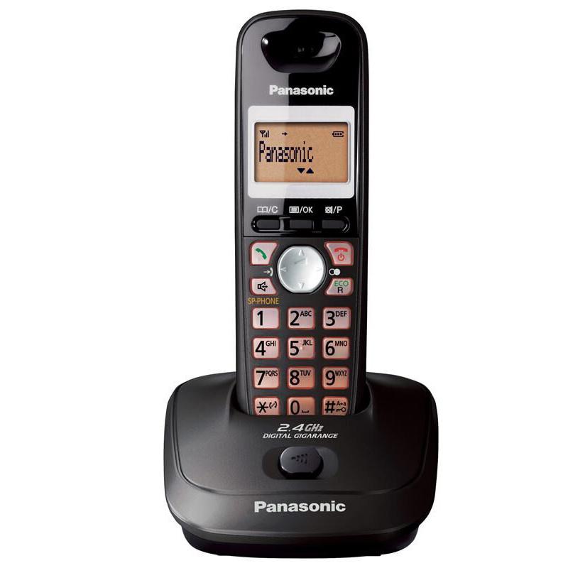 Panasonic - KX-TG3551 室內高頻無線電話 鈦色 2.4 GHz DECT Indoor Digital Cordless Phone Titanium