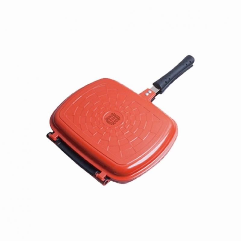 雅窗牌® - (清貨) 納米銀雲石雙面陶瓷煎鍋 - PG1626 (30 x 22cm)