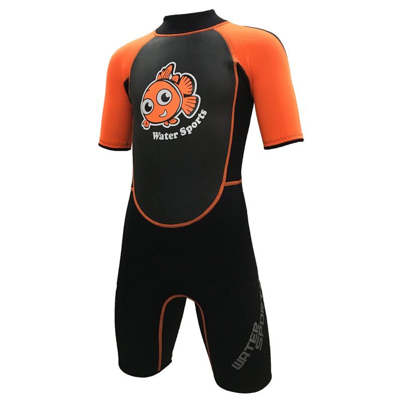 Water Sports 3.0mm 兒童保暖衣-橙