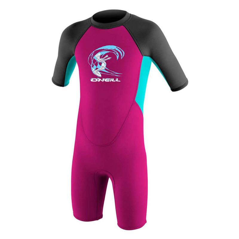 O'Neill 2.0mm 兒童保暖衣-粉紅/灰/湖水綠