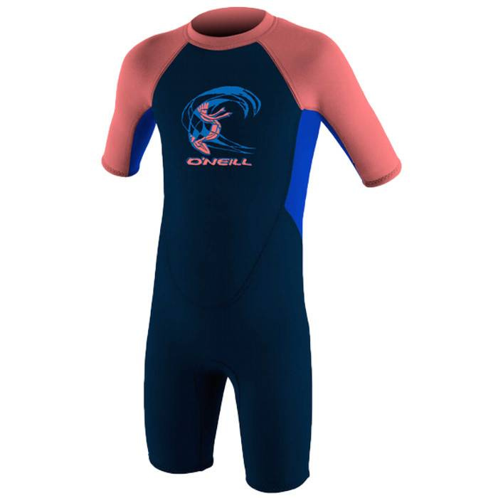 O'Neill 2.0mm 兒童保暖衣-深藍/珊瑚/藍