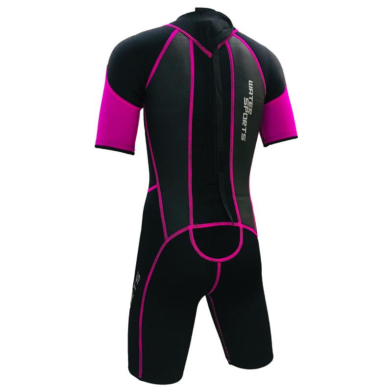 Water Sports 3.0mm 兒童保暖衣-粉紅