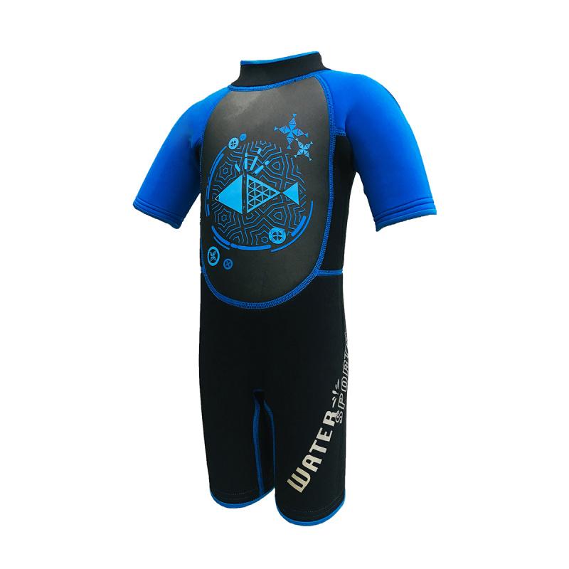 Water Sports 3.0mm 兒童保暖衣-藍
