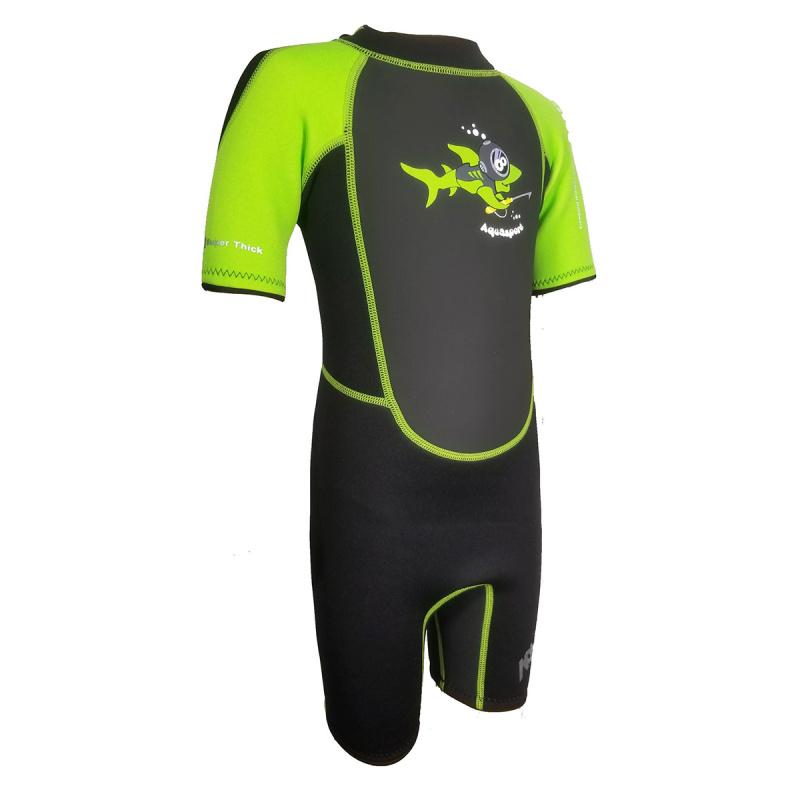 Aquasport 3.5mm 兒童保暖衣-綠