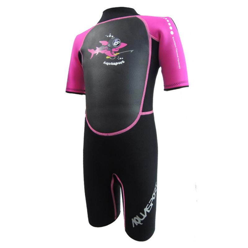 Aquasport 3.5mm 兒童保暖衣-粉紅