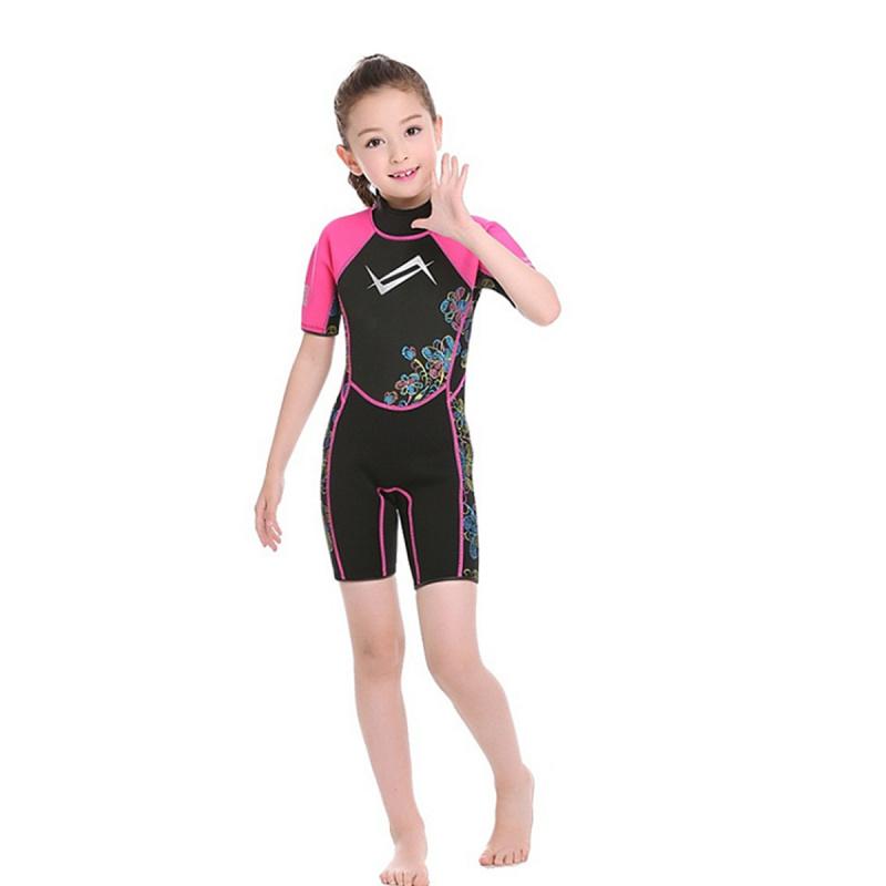 Water Pro 3.5mm 兒童保暖衣-粉紅