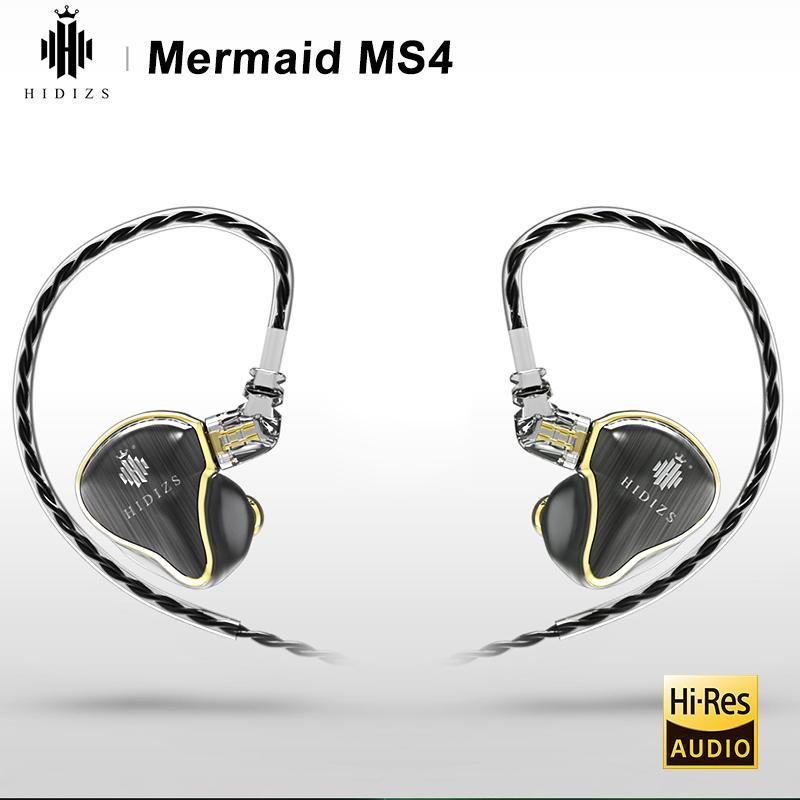 Hidizs Mermaid MS4 Earphones 【4色】