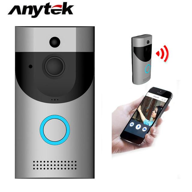 【香港行貨】Anytek B30 防水 Wifi 電池門鈴相機視頻門鈴 WITH APP