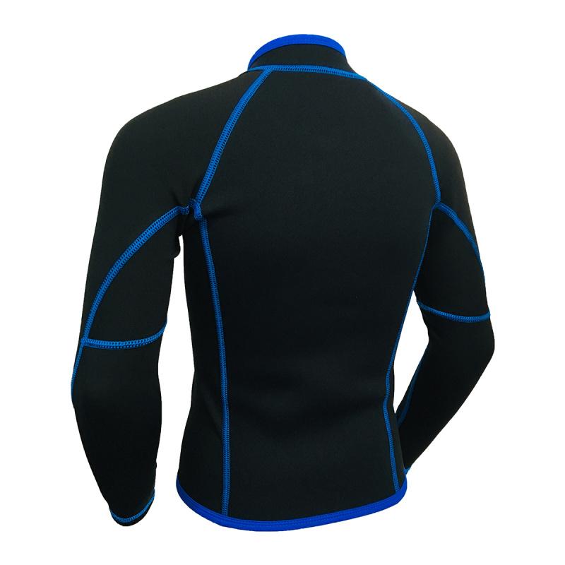 Water Sports 兒童氯丁橡膠 & 抓毛保暖夾克-藍