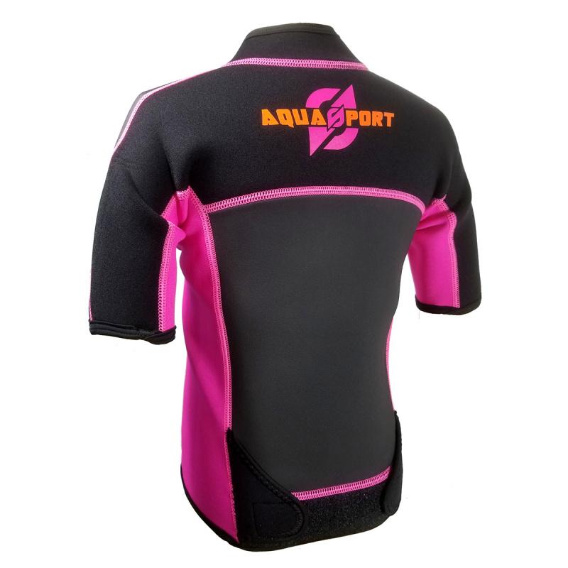 Aquasport 3.5mm 兒童保暖夾克-粉紅