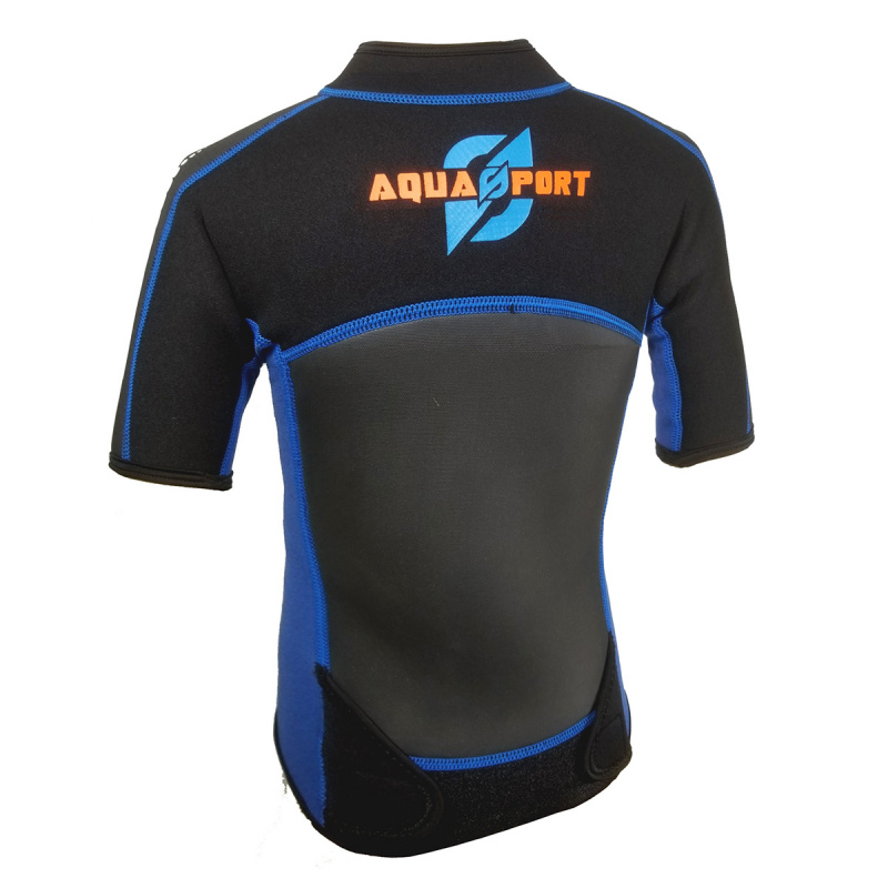 Aquasport 3.5mm 兒童保暖夾克-藍