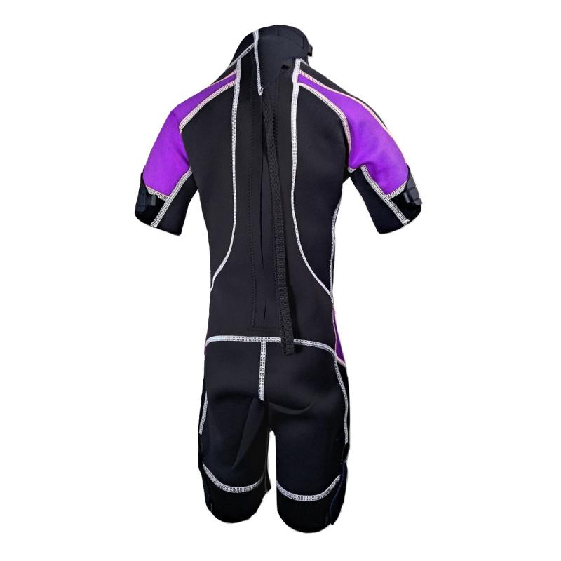 Glaucos 2.0mm 兒童保暖衣-紫