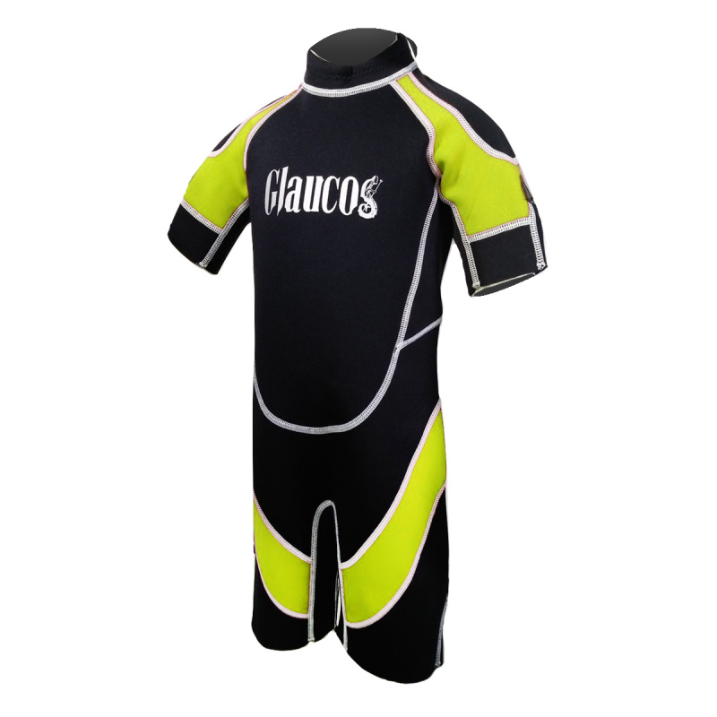 Glaucos 2.0mm 兒童保暖衣-黃