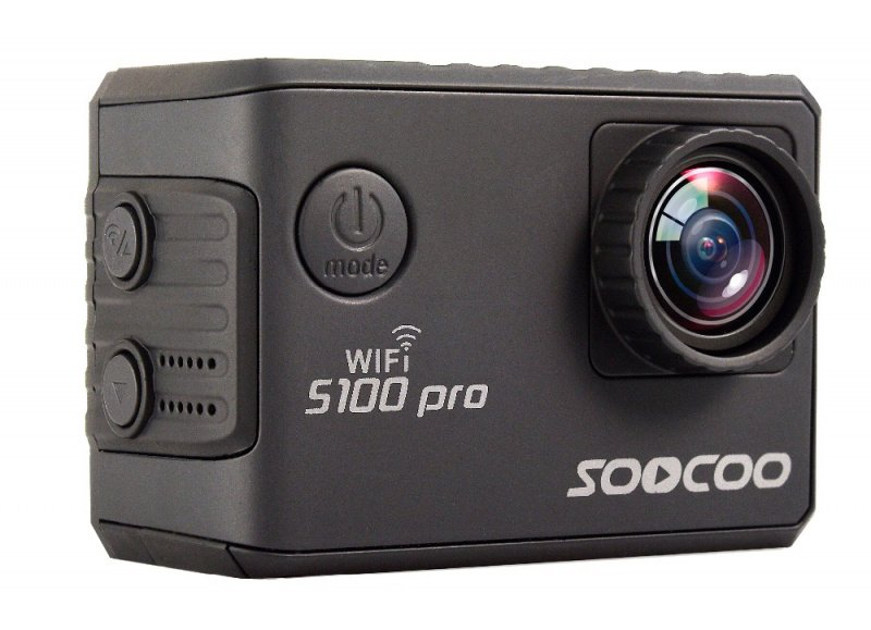 SOOCOO S100PRO 4K 2.0 TOUCH SCREEN VOICE CONTROL BUILT-IN GYRO GPS EXTERNAL WITH 2.4G REMOTE CONTROL