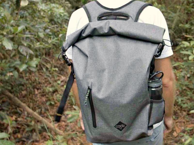 熊貓豬 英國 CODE 10 型格防盜防水多功能背包