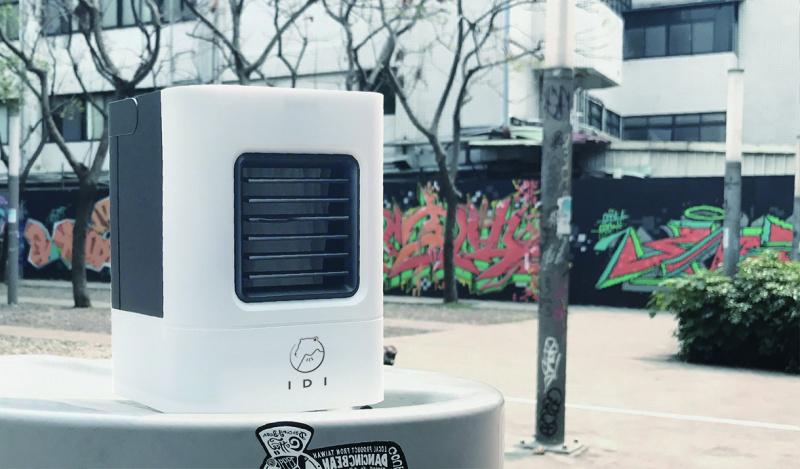 熊貓豬 台灣 IDI AC-01奈米攜帶式冷氣機