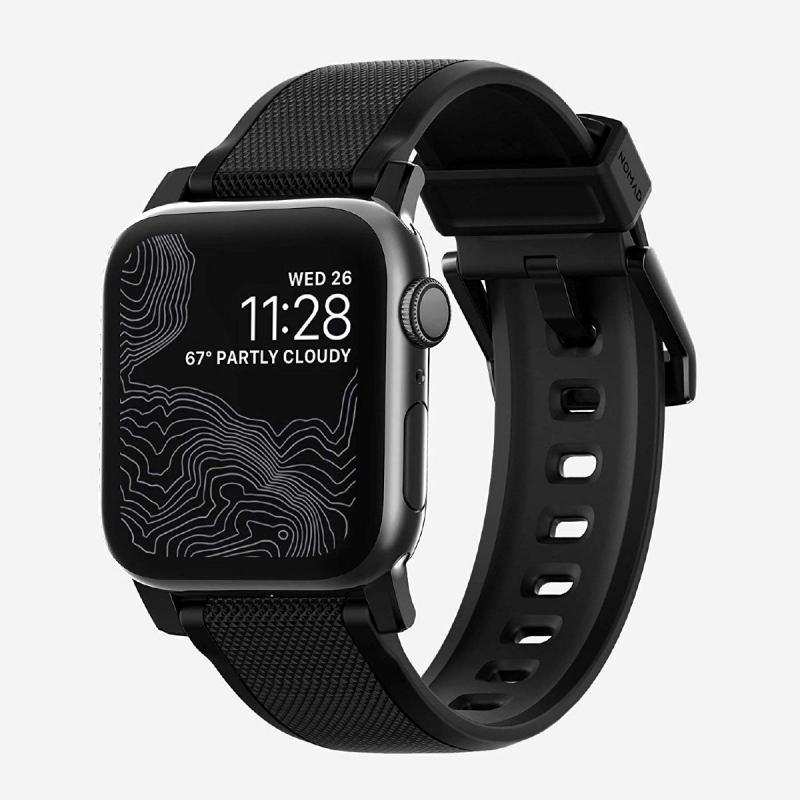 美國Nomad Rugged Strap For Apple Watch 專用真皮錶帶