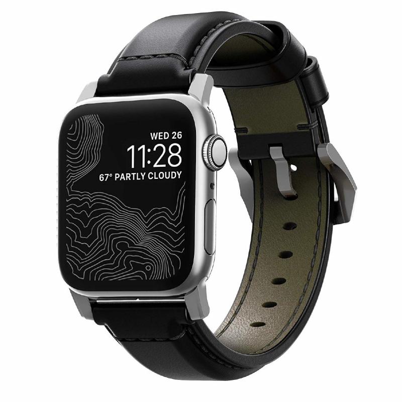 美國Nomad Shell Cordovan For Apple Watch 專用真皮錶帶