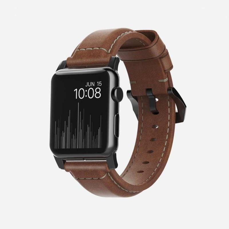 美國Nomad Traditional Strap For Apple Watch專用真皮錶帶