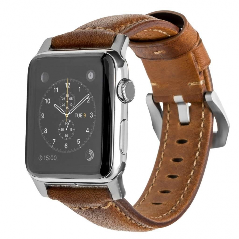 美國Nomad Traditional Strap For Apple Watch專用真皮錶帶