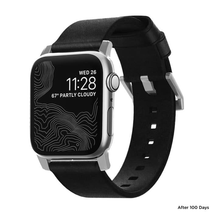 美國Nomad Modern Strap For Apple Watch 專用真皮錶帶