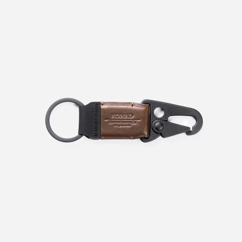 美國Nomad Key Clip牛皮鑰匙扣 現貨
