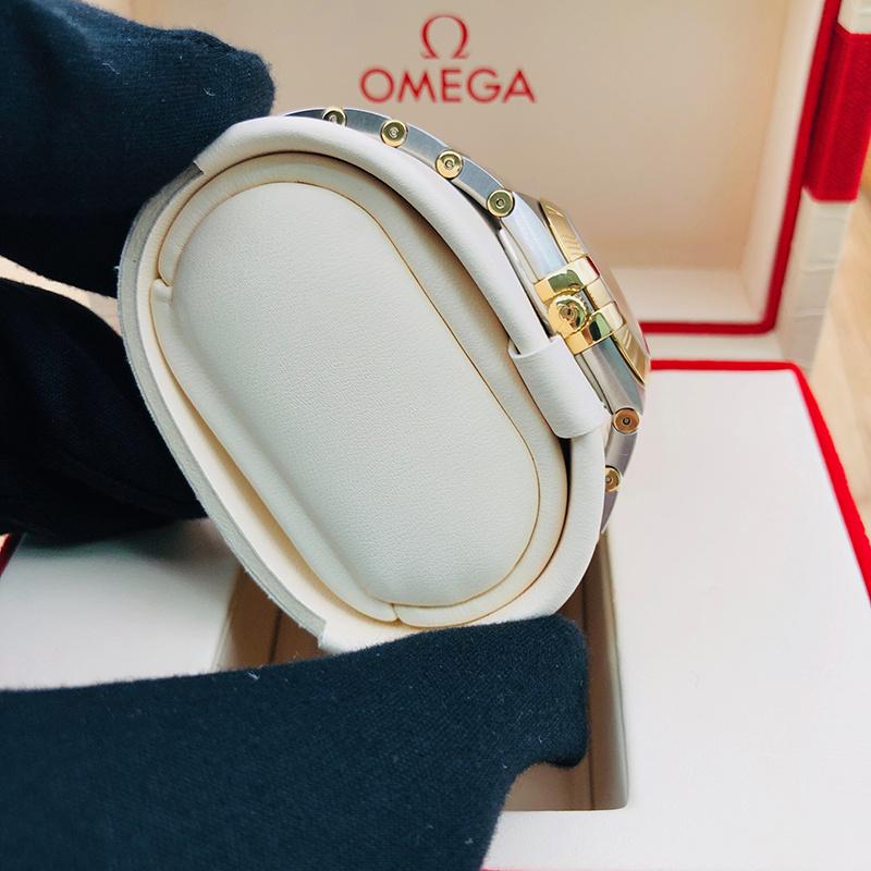 OMEGA 歐米茄 星座系列 27毫米 [不銹鋼 黃金] [123.20.27.60.58.001]