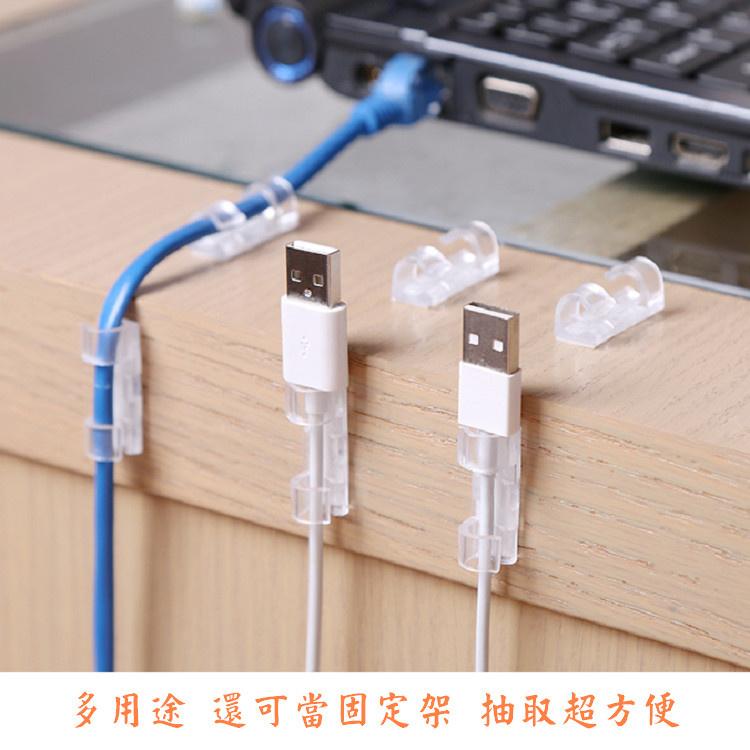 黏貼式電線固定器