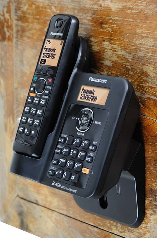 Panasonic - KX-TG3811 高頻2.4GHz無線電話 黑色 DECT Indoor Digital Cordless Phone Black