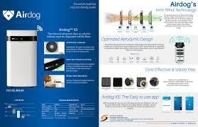Airdog - Airdog X5 Non-Filter Air Purifier 空氣淨化機【可洗式過濾器並重複使用的設計】