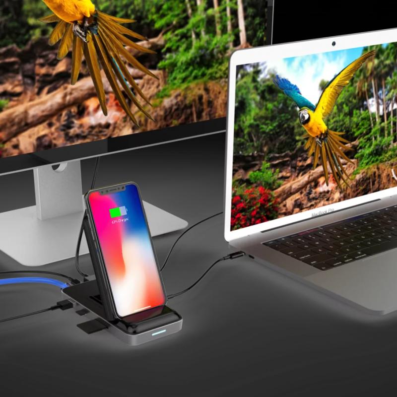 HyperDrive 7.5W無線充電器USB-C Hub 現貨