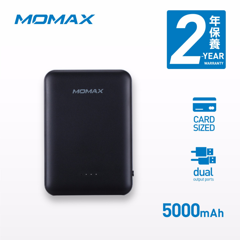 MOMAX iPower Card 2 流動電源5000mAh IP69 [3款]