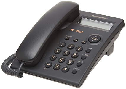 Panasonic KX-TSC11MX 來電顯示室內有線電話 黑白2色可選 Single Line Caller ID Corded Telephone Black / White