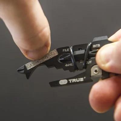 英國True Utility Fishface 18合1多功能鑰匙圈