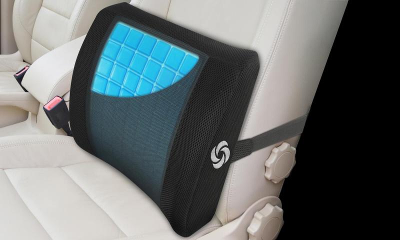 Samsonite Lumbar Support 記憶冷凍腰墊