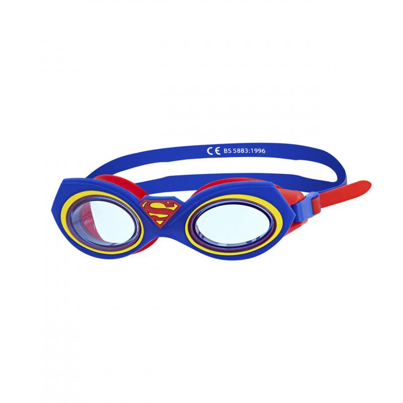 Zoggs 超人角色造型泳鏡-藍/紅