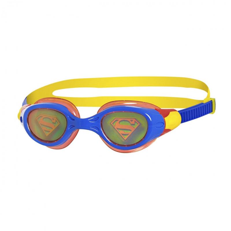 Zoggs 超人全息圖泳鏡-藍/紅
