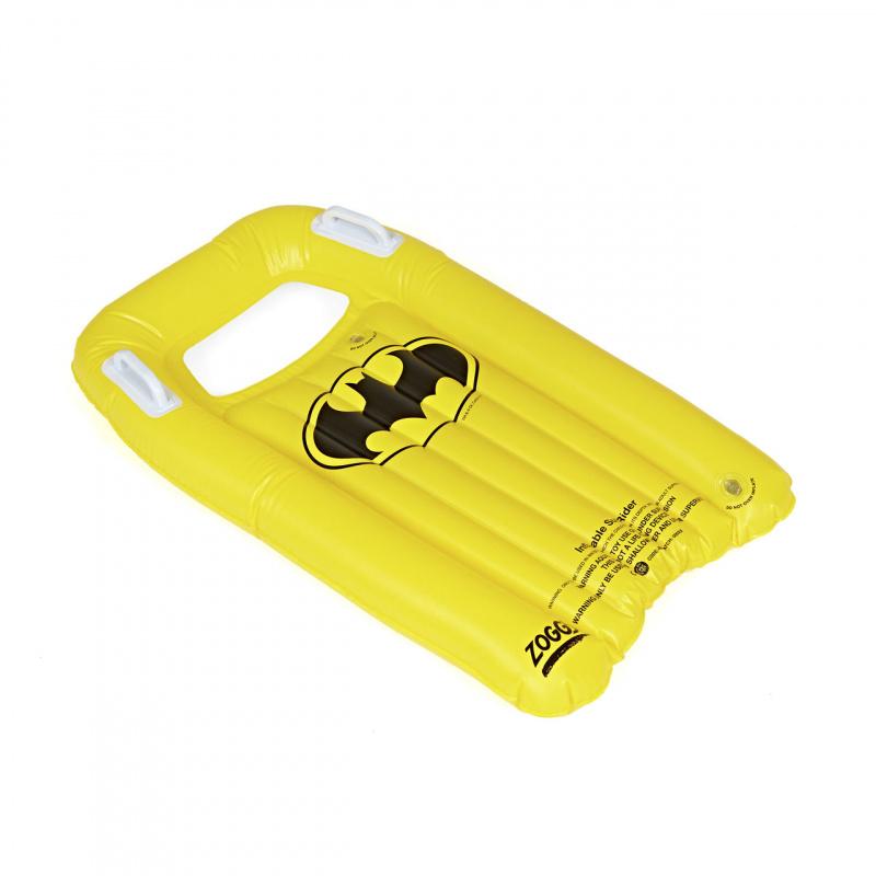 Zoggs 蝙蝠俠充氣衝浪板-黃/黑