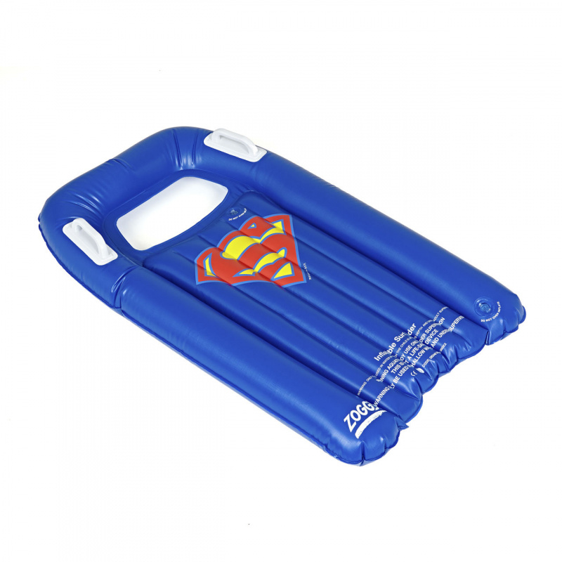 Zoggs 超人充氣衝浪板-藍/紅