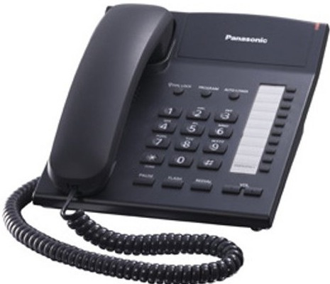 Panasonic - KX-TS820 室內有線電話 黑白兩色可選 Single Line Corded Telephone Black & White