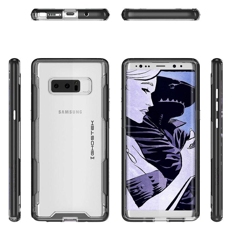 【多色選擇】Ghostek Galaxy Note 8 Clear Protective Case | Cloak 3 Series