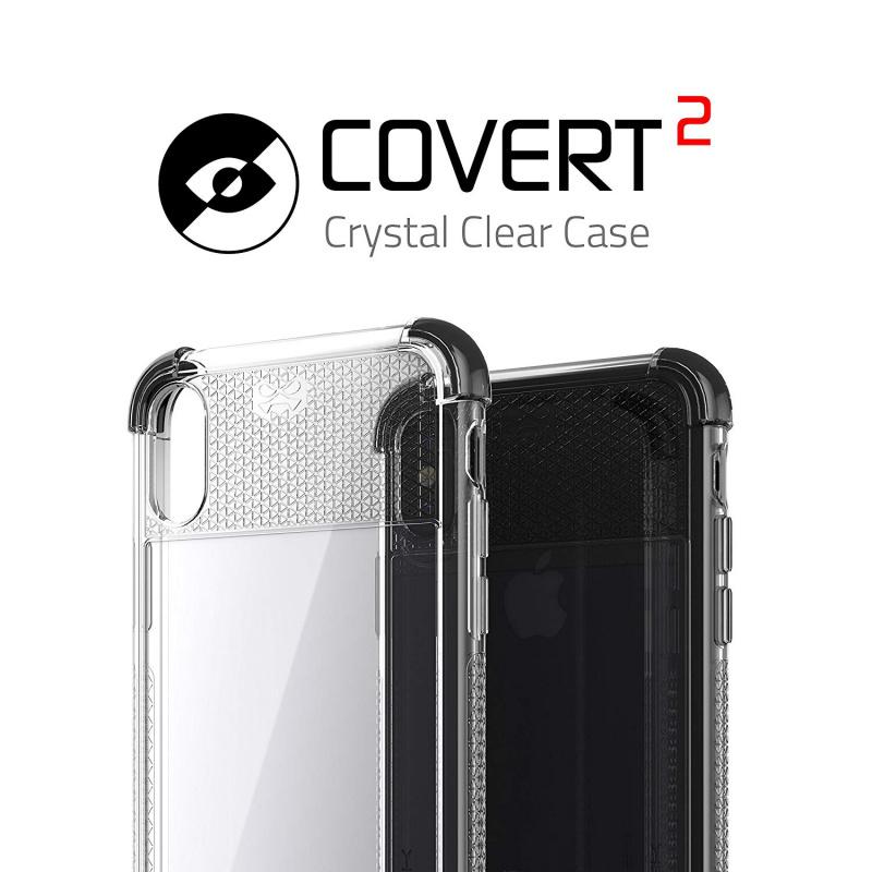 【多色選擇】Ghostek iPhone X Clear Protective Case | Covert 2 Series