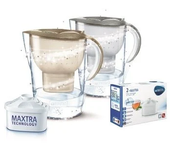 德國Brita Marella XL 3.5L 五十週年限量版濾水壺連2個Maxtra濾芯