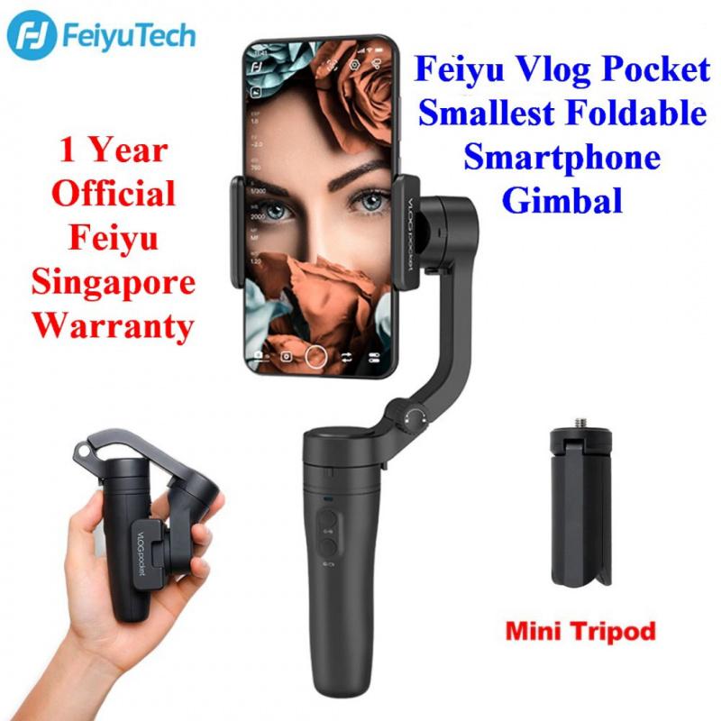 【香港行貨】Feiyu Tech 飛宇 VLOG Pocket 折叠式3軸手機雲台