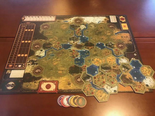 Scythe: Modular Board - 鐮刀戰爭:組合式圖版擴充