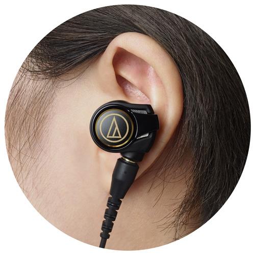 【香港行貨】Audio Technica ATH-CKS1100IS 入耳式智能手機專用耳塞咪高峰