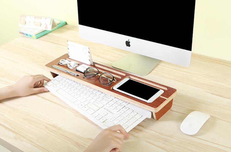 木制Keyboard 雜物架 [2款]