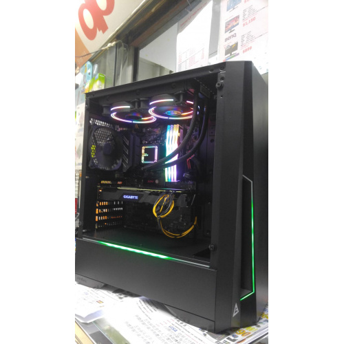 👉AccessPoint{FACEBOOK即Like即減100]強勁I5 9400F+雙風扇RTX 2070+RGB高階水冷電競組合(連正版WIN10)🔥+ASUS B365M-A電競主板+DDR4 3000 16G RAM+大容量512G SSD(讀取速580MB/s 速度超乎想像)ANTEC DP501 RGB電競機箱