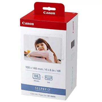 Canon KP-108IN (明信片尺寸)相紙連色帶套裝 108張4R相紙套裝(連墨)