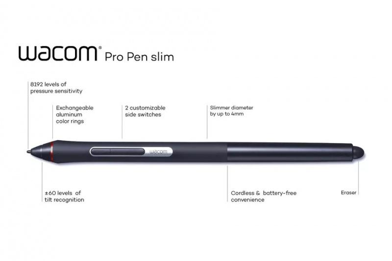 Wacom Pro Pen Slim-KP-301E